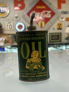 Antique Sewing Machine Oil Can 3oz 10711 $59.99