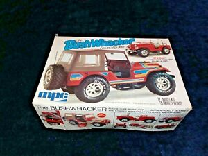 The BUSHWHACKER Off Road Jeep MPC 1 25 Scale #1 0707 Complete Vintage Kit 1977 $44.99