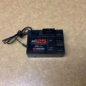 JR Racing R125 2 Channel AM Receiver 75MHz $29.99