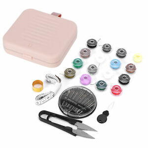 Magnetic Sewing Kit Travel Portable Storage Box DIY Embroidery Needle Thread Sci $11.07