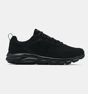 Under Armour Mens UA Charged Assert 9 Running Shoes 3024590 003 Black Black NWB $66.45