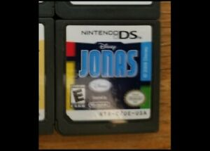 Jonas by Disney Nintendo DS Lite DSi 2DS 3DS XL 2009 Game only * Pre Owned $2.65