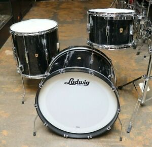 Ludwig 3pc Club Date Drum Set Anniversary Sparkle $1849.99