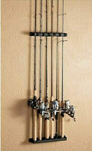 Boat Rod Rack Vertical Fishing Holder Horizontal Wall Mount Storage Pole Stand