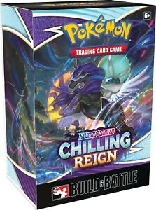 Build and Battle Box Chilling Reign Pokemon TCG SEALED $23.95