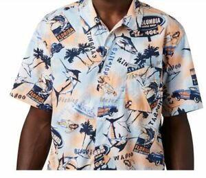 Columbia PFG Vented Trollers Best Fishing Shirt Men's **NEW** Size Large
