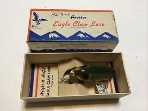 Vintage Eagle Claw Wright amp; McGill Bug A Boo Fishing Lure Lot C 1