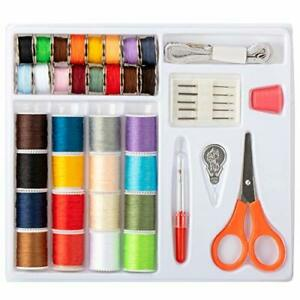 Travel Sewing Kit Sewing Machine Thread Needle Kit sewing machine thread $12.39