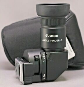 Canon Angle Finder C w Case Excellent Used $99.99