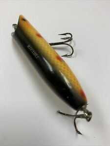Vintage Makinen Makilure Wood Topwater Fishing Lure Excellent Condition