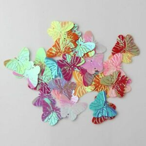 PVC Butterfly Paillettes Abrasion Resistance Stunning Sequins For Kids Craft New $8.99