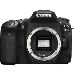 Canon EOS 90D 34.4 MP Digital Camera Black Body Only