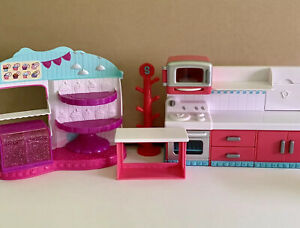 Shopkins Playset Lot Hot Spot Kitchen and More