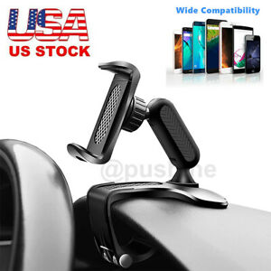 Universal Car Dashboard Mount Holder Stand Clamp Cradle Clip for Cell Phone GPS $7.91