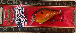 LUCKY CRAFT FAT CB BDS 1 DISCONTINUED CRANKBAIT FATCBBDS1F RAYBURN RED