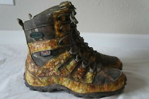 Wolverine Camo Waterproof Insulated Hunting Boots w ScentLok 04987 Mens 10.5