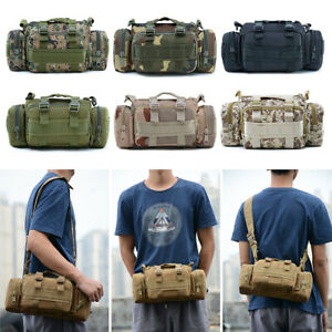 Tactical Men Waist Pack Hiking Pouch Army Outdoor Hunting Camping Backpack Bag