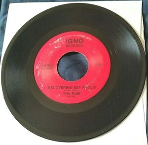 The Raw Recovering... Vanna Girl Next Door 45 private press metal HEAR $25.99