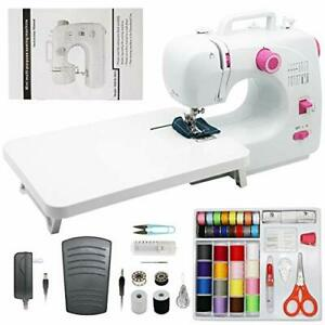 Mini Portable Sewing Machines16 Stitches 2 Speeds with Expansion TableSewing M $130.18
