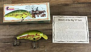 Cotton Cordell Fred Young#x27;s Big O Lure 1967 Collectors Limited Ed Box Papers