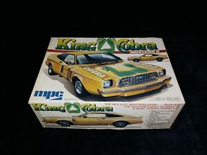 King Cobra Mustang II MPC 1 25 Vintage Kit f 1977 1 0721 Complete Parts Sealed $89.99
