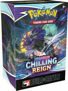 Build and Battle Box Chilling Reign Pokemon TCG SEALED $23.14