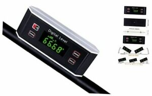 Inclinometer Digital Protractor Level Angle Finder and Gauge Tools with V $29.61
