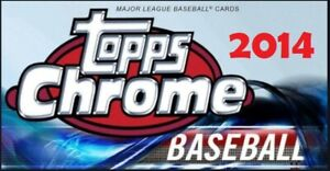 2014 Bowman Topps Chrome Rookies Refractors #d You Pick Your Cards $2.78