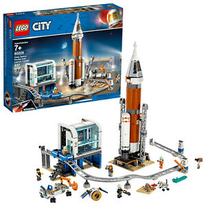 LEGO City Rocket and Launch Control 60228 NASA Space 837 Pieces