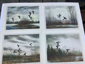 4 David Hagerbaumer Signed Lithographs Published 1967 England $149.00