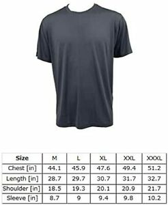Sinoeyes Mens Short Sleeve Running T Shirts Quick Dry Athletic Workout T Shirts $40.71