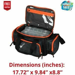 Ozark Trail 360 Fishing Tackle Bag with Tackle Boxes Product weight: 2.9lbs