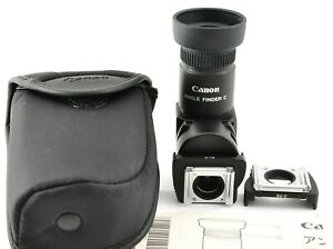 Mint Canon Angle Finder C for Canon EOS SLR w Case Manual from Japan #CF22 $133.99