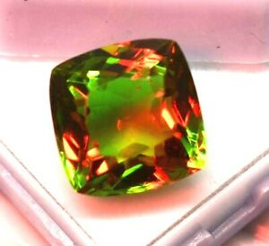 Natural Alexandrite Loose Gemstone 8 10 CT Cushion Cut Color Changing Certified $20.00