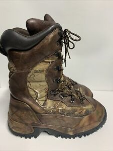 Cabela#x27;s Inferno Insulated 2000 Gram Waterproof Hunting Boots for Men Size 13D