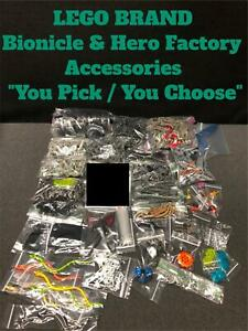 LEGO BIONICLE HERO FACTORY ACCESSORIES ACCESSORY REPLACEMENT PARTS quot;YOU PICKquot;