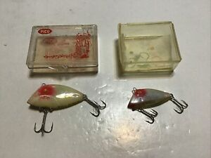 Pair Of Pico Padre Island Company In Box Vintage Fishing Lures Lure Lot C1