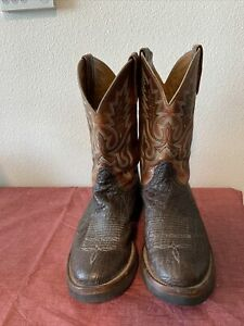 lucchese mens boots size 10amp;1 2 D work boot