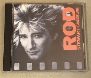 Camouflage by Rod Stewart CD Classic Rock Music 1984 WEA Warner Brothers Records