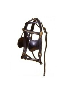 Tough 1 Bridle Leather Replace Hand Sewn Harness Pony Black 74 5000 $64.83