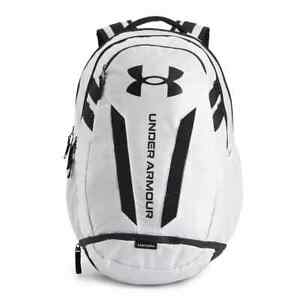 2021 NEW Under Armour Hustle Backpack WHITE $64.99