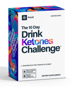 Pruvit The 10 Day Drink Ketones Challenge 20 Packets Box Sealed FREE SHIPPING