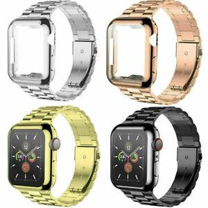 Metal iWatch Strap Band Case For Apple Watch Series 6 5 4 3 2 1 SE 38 40 42 44mm $13.99