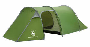 3 4 Person Double Layer Anti Hard Rain Mountaineering Camping Hiking Tunnel Tent $124.99