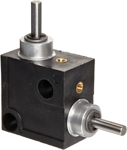 Huco 333.31.3.Z Size 31 L Box Miniature Right Angle Gearbox Acetal Case with... $36.75