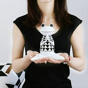 3 Styles Resin Black And White Stripes Frog Yoga Figurines Animal Yoga Statue