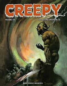 Creepy Archives Volume 6 Hardcover Book Dark Horse Archives Sealed $23.95