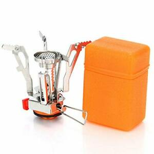 AOTU Ultralight Portable Wind Resistance Camp Stove Adjustable Camping Stoves...