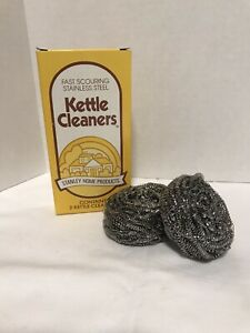 Stanley Home Products Stainless Steel Kettle Cleaners Heavy Duty Kitchen