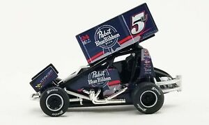 PREORDER ACME 1:64 #5w PABST BLUE RIBBON BEER SPRINT CAR